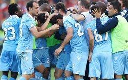 Đánh bại Roma, Lazio đăng quang Coppa Italia