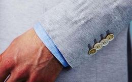 Phân biệt các loại cúc tay áo blazer