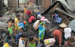 An Giang: Cảnh màn trời chiếu đất của 90 hộ dân bị cháy nhà