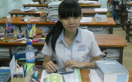 Thi tốt nghiệp THPT 2013: Cô bé trường dân lập đạt điểm cao nhất TP. HCM