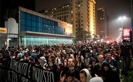 Tổng thống Brazil tự hào vì quá nhiều người biểu tình