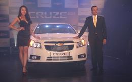 Chevrolet Cruze 2013 giá 649 triệu đồng ở Việt Nam