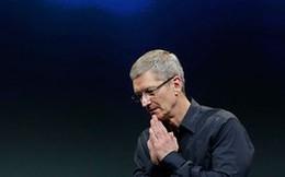 CEO Apple xin giảm thưởng vì cổ phiếu mất giá