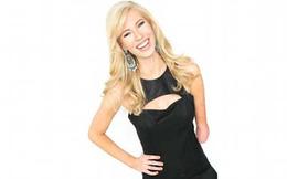Hoa hậu bang Iowa: Nghị lực phi thường của cô gái một tay