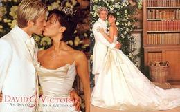 Beckham kỉ niệm ngày cưới bằng một hình xăm lãng mạn