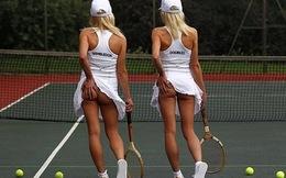 Tennis và trào lưu vén váy khoe... bàn tọa