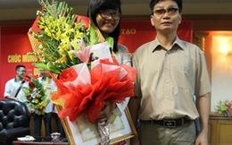 Nữ sinh từng học chuyên Văn đạt huy chương Vật lý quốc tế