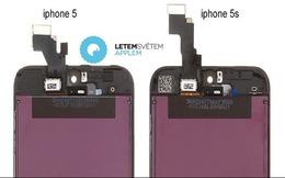 iPhone 5S lộ diện thiết kế mặt trước