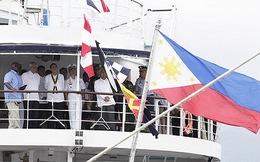 Philippines 'dùng' quân Mỹ chặn ở Biển Đông