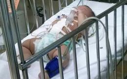 Nghi án bé gái 4 tháng tuổi bị bố đâm thủng bụng