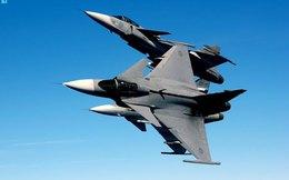 Chiến đấu cơ JAS-39 Gripen Thái Lan chưa nhận đã bị sét đánh