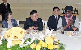 Dennis Rodman lỡ miệng lộ tên con gái Kim Jong Un