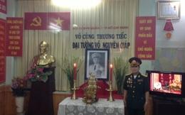 Hội cựu chiến binh TP.HCM lập bàn thờ tưởng nhớ Đại tướng