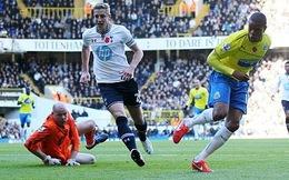 """Tai nạn bất ngờ, Tottenham """"gãy cánh"""" trên sân nhà"""