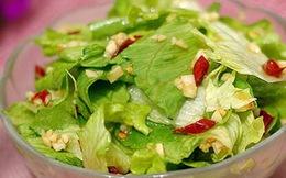 Cách làm 4 món salat rau diếp ngon và lành