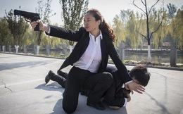 Cận cảnh luyện tập của những nữ vệ sĩ Trung Quốc