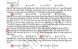 Tổng hợp các đáp án đề thi môn Vật lí khối A và A1 năm 2013