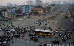 Cận cảnh tuyến đường đắt nhất Thủ đô sau khi thông xe
