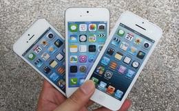 Mô hình iPhone 5S và iPhone 5C xuất hiện tại Sài Gòn