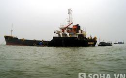 """Lai dắt """"tàu ma"""": Đòi bồi thường, ngư dân và chủ tàu… cãi nhau"""