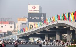TP.HCM: Giao thông thông thoáng tại hai cây cầu vượt bằng thép
