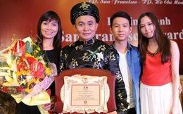 An Nguy làm clip 'đá xoáy' Bà Tưng, Xuân Hinh nhận giải thưởng cao quý
