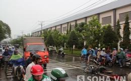 TP.HCM: Đối đầu xe tải, 2 người thương vong