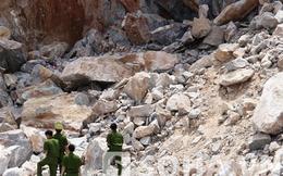 Thanh Hoá: Sạt lở đá, 3 người chết, 1 người bị thương
