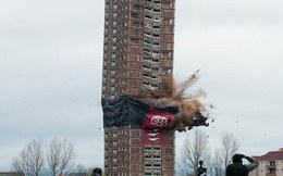 Đánh sập tòa nhà 30 tầng trong vài giây bằng 88 kg thuốc nổ