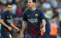 Messi chấn thương, Barca cho nghỉ dài ngày