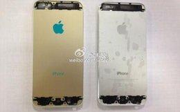 Bất ngờ lộ diện iPhone 5S màu vàng lạ mắt