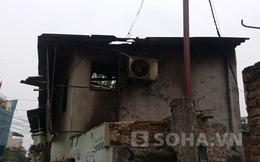 Hà Nội: Nổ bình gas tại cửa hàng làm rung chuyển cả khu phố