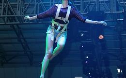 Trúc Diễm sẽ thể hiện tài đu bay trong Đẹp Show 11