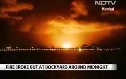Hình ảnh kinh hoàng từ hiện trường vụ nổ tàu ngầm Ấn Độ