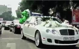 Choáng ngợp đám cưới hot girl toàn siêu xe Rolls-Royce, Bentley, Lexus