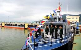 Cục vận tải Quân đội Việt Nam nhận tàu tuần tra mới
