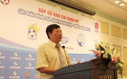 Bất ngờ: Trưởng giải V-League và hạng Nhất cùng xin từ chức