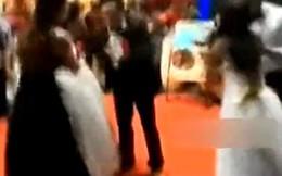 Trung Quốc: Thiếu phụ mang bầu mặc áo cưới đến đánh cô dâu