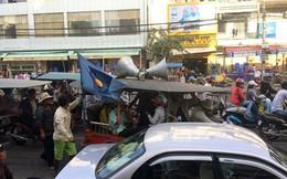 Thủ đô Campuchia tê liệt vì biểu tình