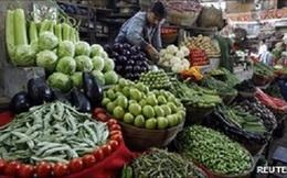 Lạm phát Ấn Độ thấp nhất trong 11 tháng