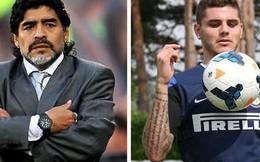 """Maradona: Mauro Icardi đáng bị đánh """"thừa sống, thiếu chết""""!"""