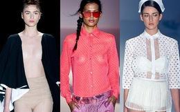 Choáng với thời trang… xuyên thấu trong tuần lễ thời trang Rio