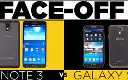 """Galaxy Note 3 vs Galaxy S4: Máy nào """"ngon"""" hơn?"""