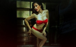Ảnh hậu trường bikini 2 thí sinh Việt Nam thi Siêu mẫu Châu Á 2013