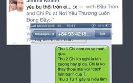 Xôn xao tin nhắn ngọt ngào của Hot girl Chi Pu với người yêu mới