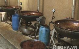 Thu giữ 6,5 tấn thịt bò khô làm từ thịt heo bốc mùi thối