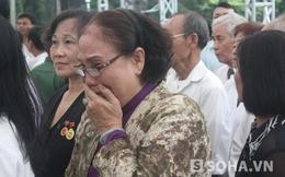 Người dân TP.HCM nghẹn ngào khóc thương Đại tướng Võ Nguyên Giáp