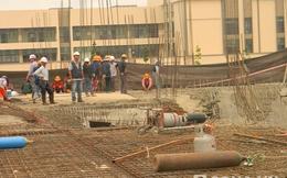 Sập trung tâm thương mại Lotte Mart Bình Dương, 8 người thoát chết