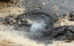 Đường phát nổ, bốc lửa ở TP.HCM có thể do khí metan