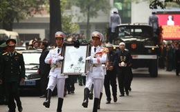 103 khoảng lặng trong Lễ truy điệu và di quan Đại Tướng